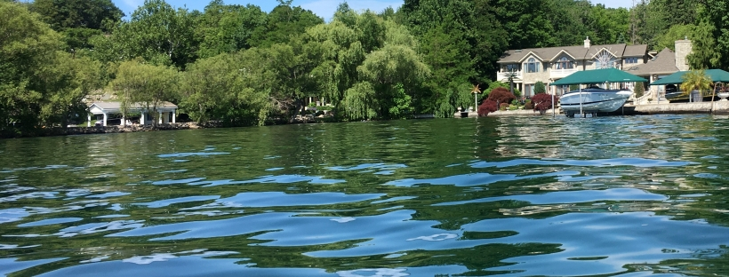 Tichenor Point from the water